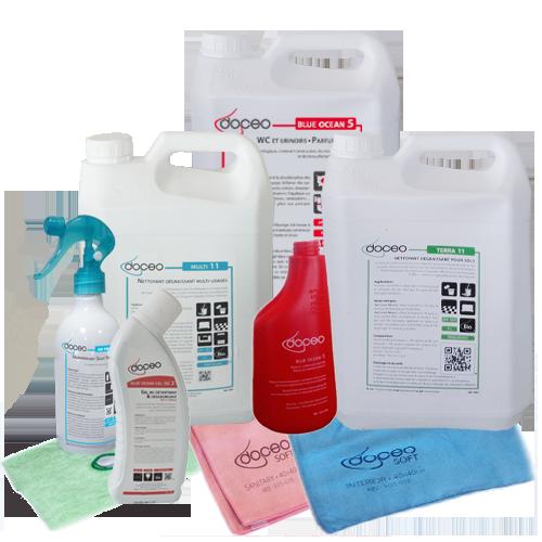 Testez & optez pour les produits Bio promo doceo